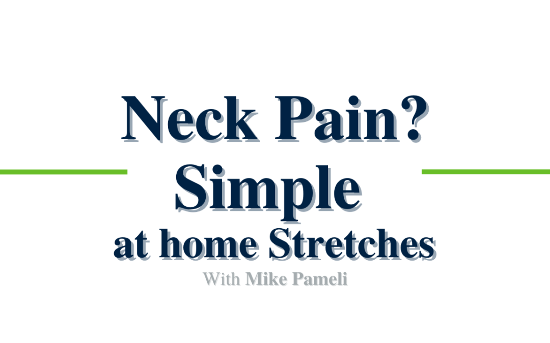 Simple At-Home Neck Stretches